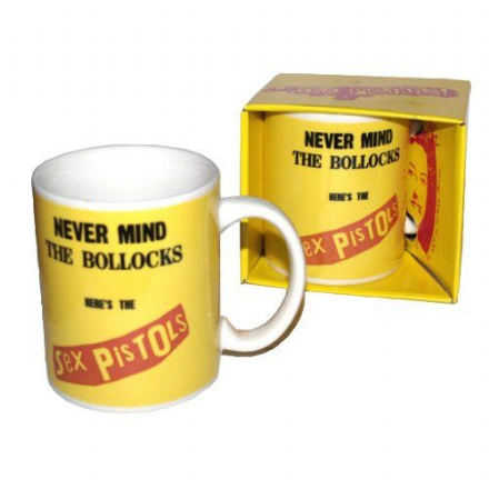 Sex Pistols Never Mind The Bollocks Ceramic Mug